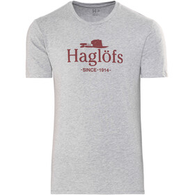 Haglöfs Camp Tee Men grey melange